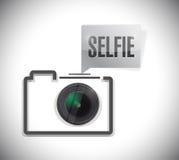 Selfie photo concept illustration design Royalty Free Stock Photos