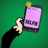Selfie picture Stock Image
