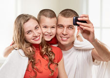 Selfie portrait Royalty Free Stock Images