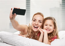 Selfie portrait Stock Image