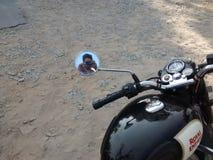 Selfie real Fotos de archivo libres de regalías