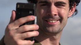 Selfie, Self Photography, Cell Phones stock footage