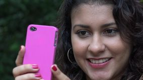 Selfie, Self Photography, Cell Phones stock video footage