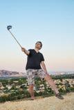 Selfie stick Stock Image