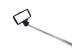 Selfie stick monopod. On isolate background Royalty Free Stock Photos