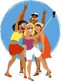 Selfie-Stockfoto Lizenzfreie Stockfotografie