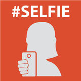 Selfie, taking self photo Stock Image