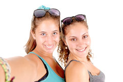 Selfie Royalty Free Stock Images