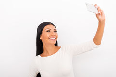 Selfie tid! Royaltyfria Bilder