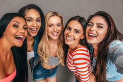 Selfie time! Royalty Free Stock Photos
