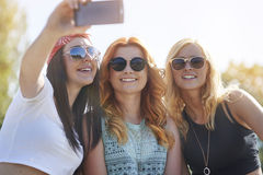 Selfie time! Royalty Free Stock Photo