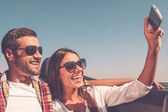 Selfie time! Royalty Free Stock Photography