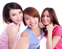 Selfie together Royalty Free Stock Photo