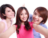 Selfie together Stock Images