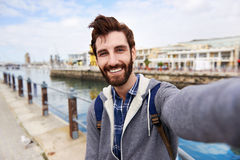 Selfie-Tourist stockfotos