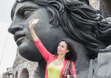 Selfie in Verona Stock Images