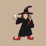 Selfie witch Royalty Free Stock Images