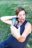 Selfie Royalty Free Stock Photos
