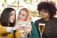 Selfie with your phone Royalty Free Stock Photo