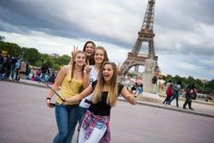 Selfie z Eiffeltower Fotografia Royalty Free