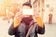 Selfie-Zeit Stockfoto