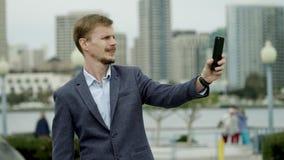 Selfies in Coronado, San Diego stock video