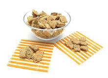 Selfmade dog cookies Stock Photo