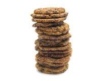 Selfmade orange-chocolate-cookies Royalty Free Stock Photo