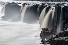 Selfoss, Iceland. Selfoss formed by river Jökulsa a Fjöllum Stock Images