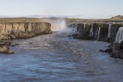 Selfoss Mid Zoom - Long Exposure Royalty Free Stock Photo
