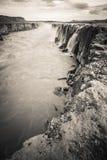 Selfoss waterfall Stock Photo
