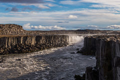 Selfoss waterfall Stock Image