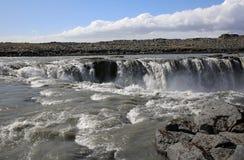 Selfoss Waterfall. Closeup of Selfoss Waterfall in Iceland Royalty Free Stock Photography