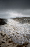 Selfoss Waterfall, Iceland Royalty Free Stock Image