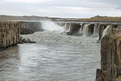 Selfoss waterfall in Iceland Stock Image
