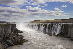 Selfoss waterfall Stock Photos