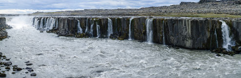 Selfoss waterfall, Northeast Iceland Royalty Free Stock Photography