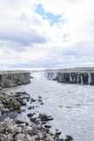 Selfoss waterfall, Northeast Iceland Royalty Free Stock Photography