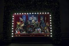 Selfridges,牛津街,伦敦,装饰圣诞节和新的2018年 库存照片