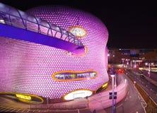 Selfridges Birmingham på natten 12 Oktober 2012 Arkivfoto