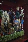 Selfridges, de Straat van Oxford, Londen, voor Kerstmis en het Nieuwe Jaar dat van 2018 wordt verfraaid Stock Afbeelding