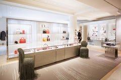 Selfridges department store interior, Dior shop in London Stock Photos