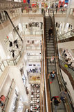 Selfridges department store interior in London Stock Images