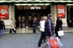 Selfridges Department Store, London Stock Photo