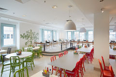 Selfridges department store restaurant interior in London Royalty Free Stock Images