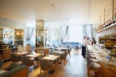 Selfridges department store restaurant interior in London Stock Images
