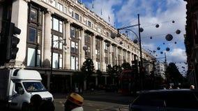 Selfridges Londen Royalty-vrije Stock Foto's