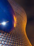 Selfridges på natten Birmingham Arkivbilder