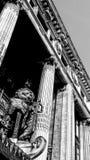 Selfridges preto e branco imagem de stock royalty free