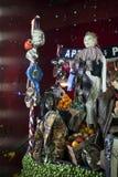 Selfridges, rue d'Oxford, Londres, décorée pendant Noël et de nouvelle 2018 années Images libres de droits